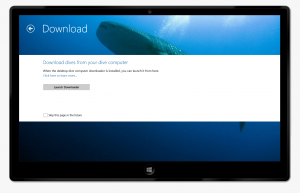 From the next page you can launch the desktop touch downloader