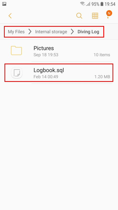 Android – Other cloud storages « Diving Log Blog